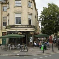 Montpellier Street, Cheltenham - For shopping, dining, drinking and strolling along. Montpellier, Places Ive Been, Places To Visit, Places In England, Relaxing Holidays, Visit France, Outdoor Seating Areas, Work Travel, Explore