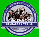 Genealogy Trails History Group - Finding Ancestors wherever their trails led