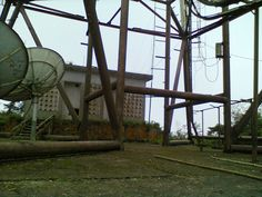 the base of the Antenna