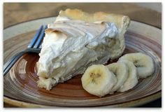 Mommy's Kitchen - Old Fashioned & Southern Style Cooking: Old Fashioned Banana Cream Pie, Oh My
