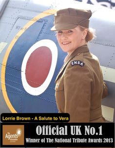 Salute to the 1940's at the Maddermarket Theatre Norwich on Feb 4th 2014 - Lorrie Brown, the UK No.1 Vera Lynn tribute will be performing at the Theatre