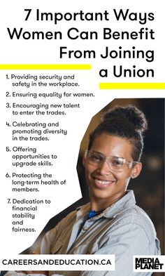 It's possible to benefit from joining a union. Here are 7 ways women can benefit from a union.