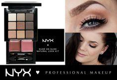 Η απόλυτη φθινοπωρινή παλέτα σκιών είναι η NYX Nude on Nude Natural Look Kit(S109N). Με 9 ζεστές γήινες και taupe αποχρώσεις που ταιριάζουν σε όλους μπορούμε να δημιουργήσουμε απο ένα φυσικό μέχρι ένα smokey μακιγιάζ! Περιέχει ματ αλλα και shimmer υφές και μας δίνει και 2 επιλογές για το κραγιόν για να ολοκληρώσουμε το look! Επίσης έχει καθρέπτη, πινελάκι για τις σκιές και πινελάκι για το κραγιόν.