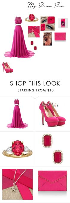 """""""my idea for prom"""" by naisha98 ❤ liked on Polyvore featuring Charlotte Olympia, Natasha Accessories, Argent of London and Rebecca Minkoff"""