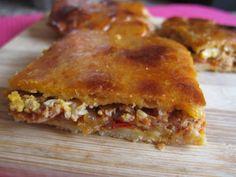 #milicocinillas #empanada de #atun #tomate quien quiere un trocito ?? venga que ya casi es hora del almuerzo ademas #sinlactosa ^+^