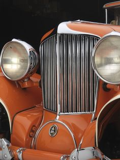 Art Deco Autos -  The grille of the 1929 Cord L-29 Cabriolet. Collection of Auburn Cord Duesenberg Automobile Museum.  Credit: Copyright 2013 Peter Harholdt