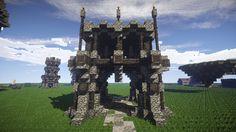 Minecraft Tutorial 016 | Middelalder / Steampunk Platform