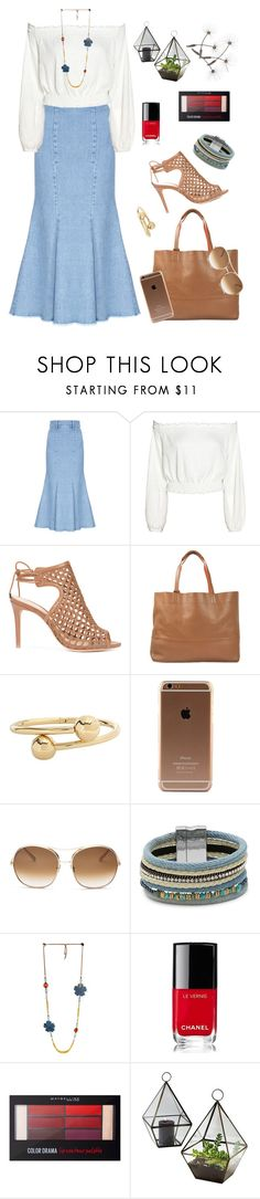 """""""Untitled #1877"""" by ebramos ❤ liked on Polyvore featuring Alexandre Birman, Zadig & Voltaire, J.W. Anderson, Chloé, Cara, Chanel and Maybelline"""