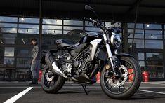 Indir duvar kağıdı Honda CB300R, 2018, 4k, yeni motosiklet, Japon bisiklet, Honda