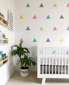 @babyletto on Instagram: it's all in the colorful details   • #babyletto Hudson crib • : designed by mama @fi.campbell