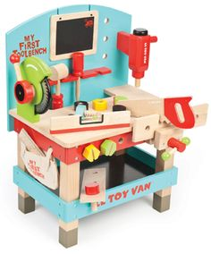fe7b511afad2 My first tool bench Le Toy Van children s wooden tool bench toy
