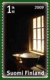 sauna stamps.  6/5/2009.