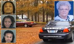 'She was a fighter. She shot him': Defiant 76-year-old woman dies in shootout with gang of three who tried to rob her of bingo money. Bingo hall volunteer shoots suspected robber before dying from injuries.  Two men and a woman charged with murder after attack outside South Carolina home.  ***Another day, another black on white violent crime.  Trayvon who? - via Daily Mail 11-30-2013