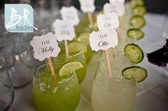 Signature Cocktails, Elegant Rehearsal Dinner at Latitude 31, Jekyll Island, Georgia.  #latitude31 #jekyll #jekyllisland #bride #wedding #rehearsaldinner #weddingreception #georgia #event #catering #weddingtheme #historicdistrict #historicwharf