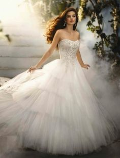 Disney Fairytale Wedding collection by Alfred Angelo 2012CINDERELLA_209_AD_S12_0.jpg (485×638)