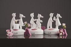 Das Lichterpaar tanzt auf Deiner Hochzeit - tolle Dekoidee für Deine Hochzeitstische | VALENTINO Hochzeitsdeko