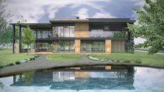 Projektowany dom pokazowy dla firmy JJT Elementum Sp. z o.o. zlokalizowany jest na terenie wpisanym do rejestru zabytków Miasto-Ogród Podkowa Leśna.
