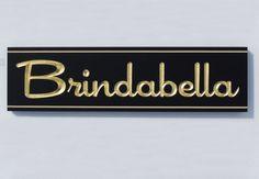 Brindabella House Sign / Danthonia Designs