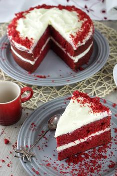 Pavlova, Red Velvet, Cheesecake, Cooking, Desserts, Recipes, Food, Cupcake, Lovers