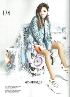 NYLON KOREA #2NE1 #DARA #다라