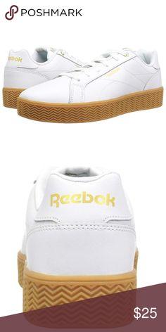 Reebok White Gum Tennis Sneaker Shoes Classic New in Box e96a92dfc