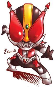 Chibi Kamen Rider Den-O par P. Cardonas