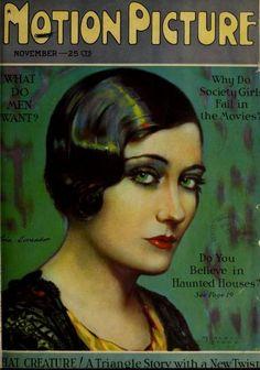 Nov. 1926 cover, Gloria Swanson.