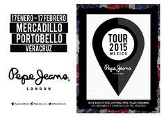 El Mercadillo de Portobello de Pepe Jeans llega a Andamar desde el 17 de Enero. ¡Los esperamos!