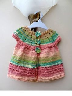 Smart knitting children vest which is processed from the rope