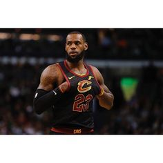 Game 1 of this series was LeBron James' 20th career playoff triple-double. Game 2 is his 20th career 40-point game in the postseason. #repre23nt
