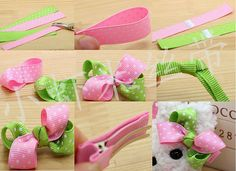 Moños:* on Pinterest | Hair Bows, Bows and Bow Making