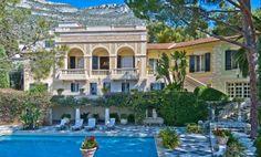 Sea view Belle Epoque style mansion for sale in Cap D'ail, Côte d'Azur, France. viewofwater.com
