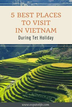Best places to visit in Vietnam during Tet Holiday. Where to go in Vietnam, what to do in Vietnam and tips for traveling during Tet Holiday (Lunar New Year). You'll definitely want to save this to your Vietnam Board so you can try it when you're in Vietnam. #Vietnam #Vietnamtours #TravelVietnam #Vietnamtrip #AsiaTravel #asia #travelguides