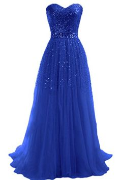 Emma Y Exquisite Sweetheart Tulle Long Prom Dress Party Gowns- US Size 14-Royal Blue Emma Y Lady http://www.amazon.com/dp/B00KT1VO46/ref=cm_sw_r_pi_dp_f2gXtb1NBCQM554V