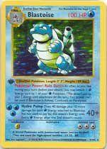 Pokemon Card 2/102 - BLASTOISE (holo-foil) $29.99