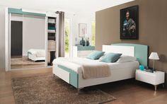 Chambre complète Loft : chambre à coucher adulte | Meubles CéLio ...
