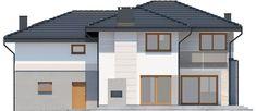 DOM.PL™ - Projekt domu ARP EMILIAN CE - DOM AP2-13 - gotowy koszt budowy Classic House Exterior, Modern Small House Design, Garage Doors, Outdoor Decor, Home Decor, Architecture House Design, Decoration Home, Room Decor, Home Interior Design