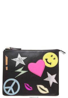 House of Cases LOVE Clutch black/multi - Women's Clutch Bags - HC051H000-Q11
