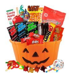 Halloween is all about dressing up, having fun and don't forget the candy! That's why we packed a candy bucket with the largest selection of everyone' Gift Baskets Canada, Fall Gift Baskets, Halloween Gift Baskets, Holiday Time, Holiday Parties, Holiday Ideas, Fall Gifts, Holiday Gifts, Halloween Stuff