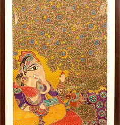 madhubani ganesha paintings - Google Search