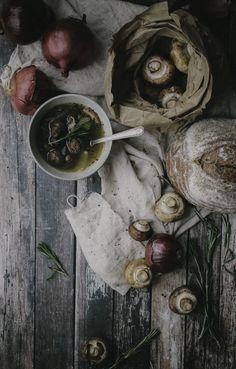 Lemon garlic chicken soup by @The Denizen Co.