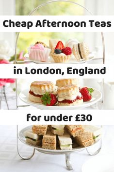 Cheap Afternoon Teas in London for Under – Curious Claire Looking for a traditional afternoon tea without the high price tag? Here are the cheapest afternoon teas in London, all for under … Europe Destinations, Holiday Destinations, London High Tea, Essen In London, London Food, London Eats, Cheap Food London, London Travel, Travel Europe