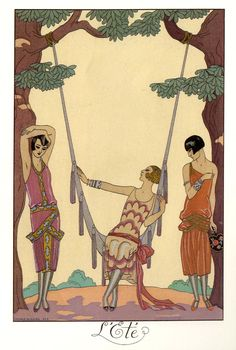 GEORGE BARBIER, The Four Seasons