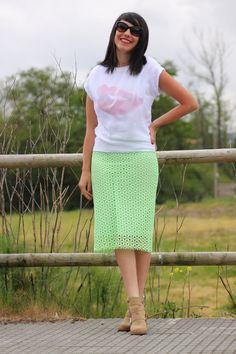 #fashion #zara #style #green #mode #ootd