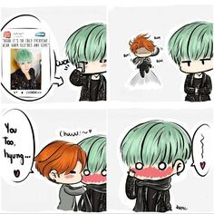 Image result for chibis del yoonmin