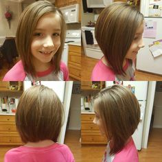 Little Girl Haircuts with Bangs Little Girl Bob Haircut, Little Girl Short Hairstyles, Short Hair For Kids, Bob Haircut For Girls, Baby Girl Hairstyles, Short Hair With Bangs, Short Wavy, Wavy Hairstyles, Kids Hairstyle
