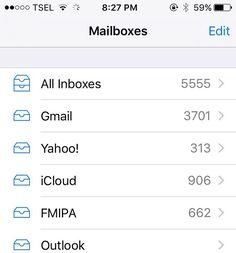 5555 unread mail :)