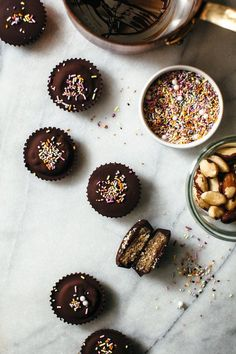 brazil nut vegan cookie dough cups-Molly Yeh/My Name is Yeh