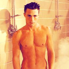 And also showering faces like this. | 32 Things That Prove Colton Haynes Is The Most Beautiful Man Alive