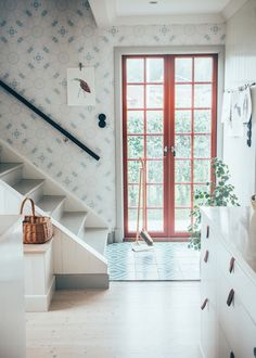 The charming home of a Swedish designer